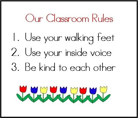 photograph regarding Kindergarten Classroom Rules Printable referred to as Kindergarten Clroom Guidelines And Outcomes - iwate-kokyo